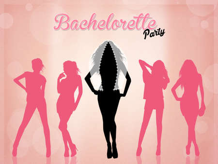 bachelorette: Bachelorette party Stock Photo