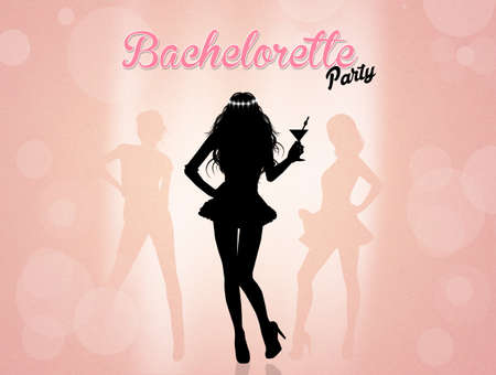 bachelorette: Evening bachelorette