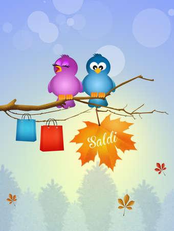 seasonal: illustration of seasonal sales