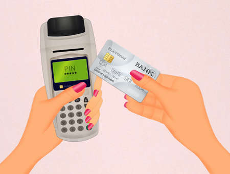 bancomat: Payment by credit card