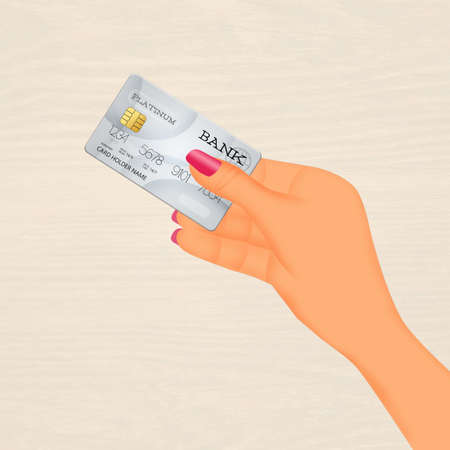 bancomat: Payment with cretid card Stock Photo