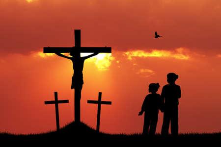believer: children pray Jesus