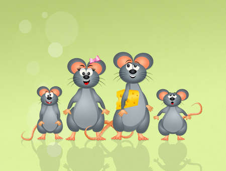 carefree: family of mice