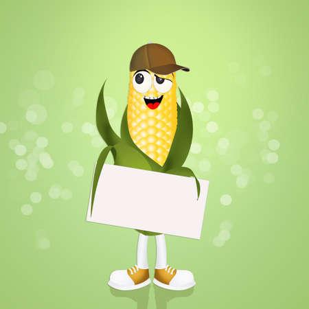 cob: illustration of funny cob