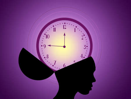 lady clock: concept of menopause