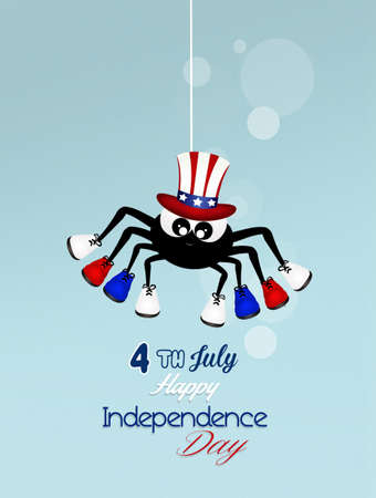 postcard: Independence postcard