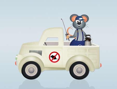 eradicate: disinfestation mice