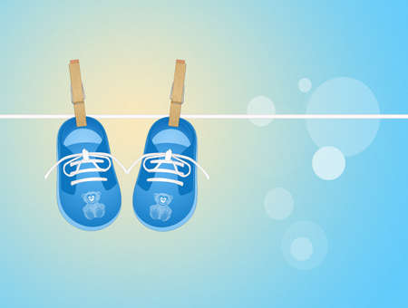 baby shoes: baby shoes hanging