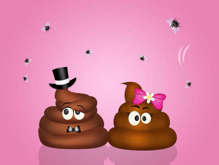 spouses: poop couple in love