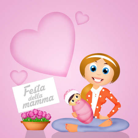 day: mothers day Stock Photo