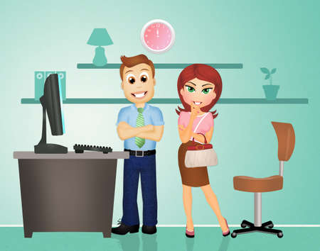 assume: job interview Stock Photo