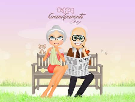 outdoor event: feast of grandparents