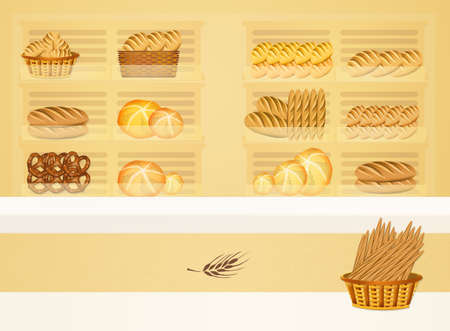 crumb: illustration of bakery