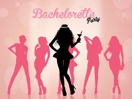 evening: Evening bachelorette