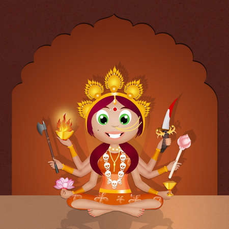 tantric: Kali Goddess