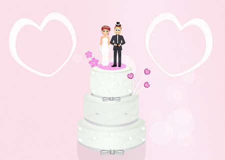 spouses: Wedding cake