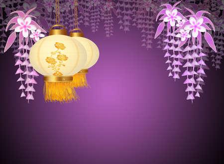sky lantern: Chinese lanterns