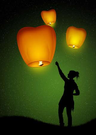 sky: sky lanterns