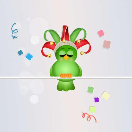 minstrel: cute bird joker