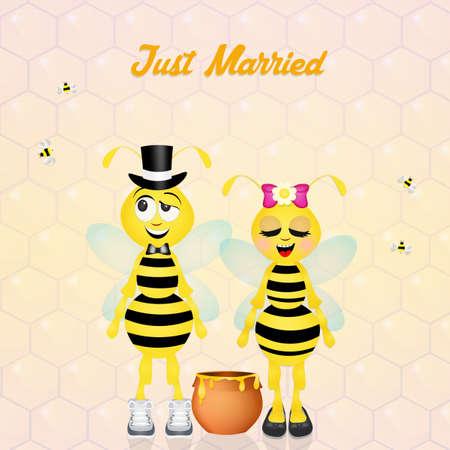 hum: Wedding of bees