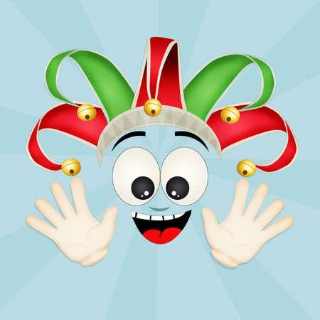 minstrel: funny joker cartoon