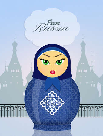 babushka: Matryoshka dolls from Russia