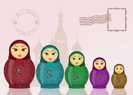 collectibles: Matryoshka dolls