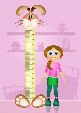 measure height: meters measure children