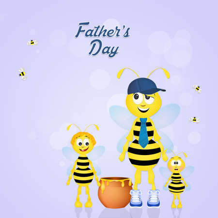hum: bee dad for Fathers day