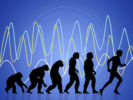 sapiens: human evolution running