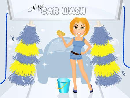 car wash: sexy car wash