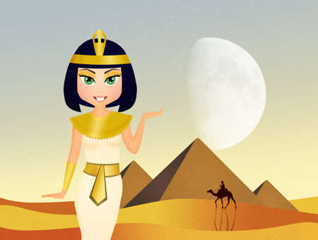 cleopatra: cute Cleopatra queen cartoon