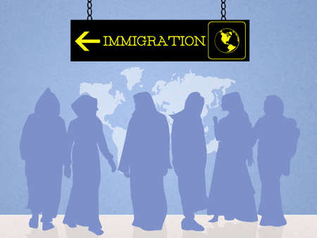 immigrate: immigration