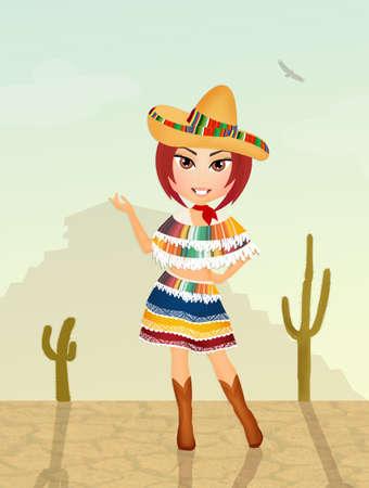 arid: cute Mexican girl
