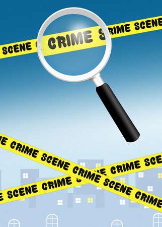 crime scene: crime scene Stock Photo