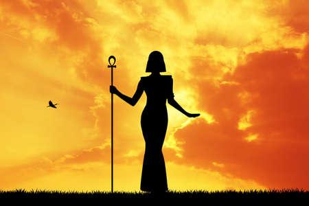cleopatra: Cleopatra at sunset