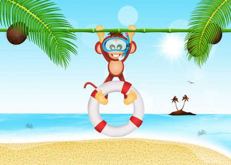 lifeguard: monkey lifeguard