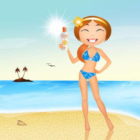 tans: girl tans