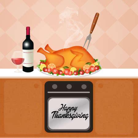 roast turkey: roast turkey for Thanksgiving