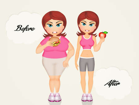 before: before and after diet