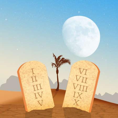 tables of the ten commandments
