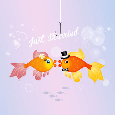 fishes: red fishes spouses