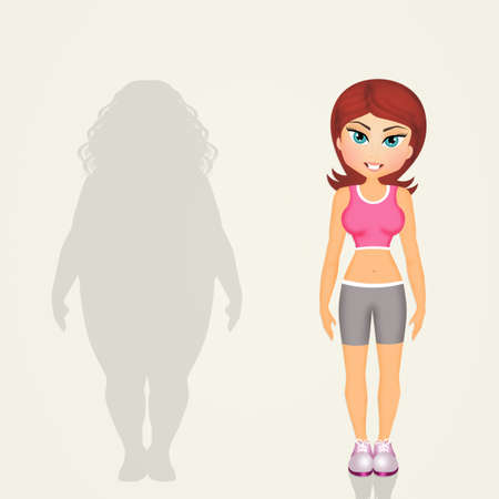 과체중 여성의 라이프 스타일 변화
