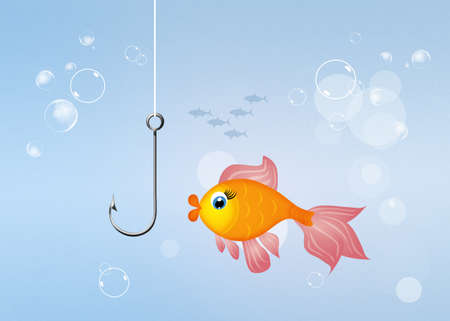 red  fish: funny red fish