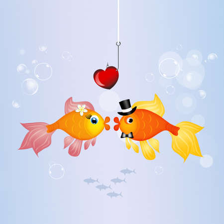 spouses: red fishes in the water