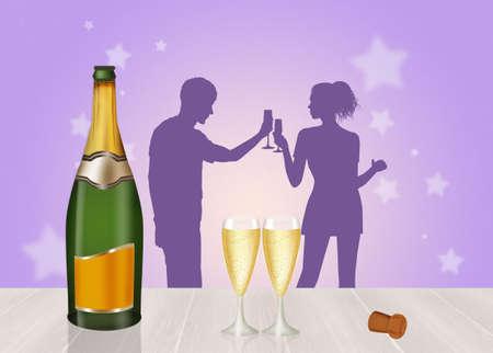 uncork: New Years toast