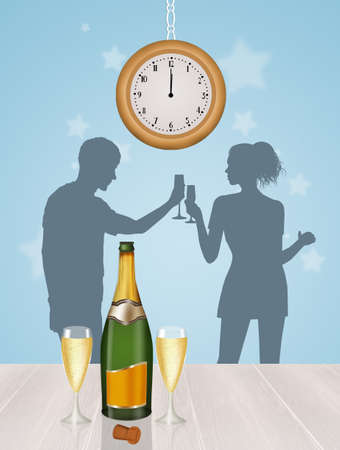 uncork: toast for the New Year