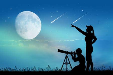 looking: looking the shooting stars