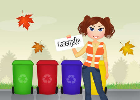responsible: responsible for waste collection