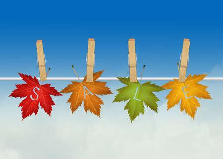 seasonal: seasonal sales Stock Photo